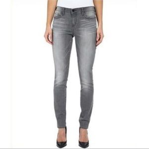 DKNY Gray 5 Ave Ultra Skinny Denim Jeans